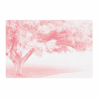 Sylvia Coomes Frost Photography White/Pink Area Rug Rug Size: 2 x 3