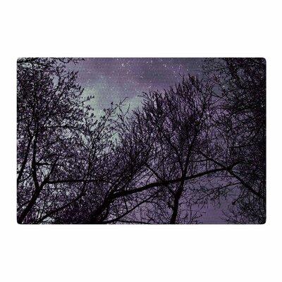 Sylvia Coomes Sky Purple/Lavender/Black Area Rug Rug Size: 2 x 3