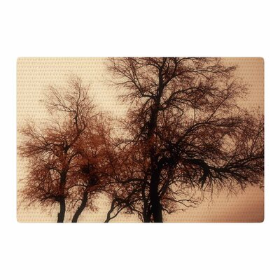 Sylvia Coomes Rust Trees Photography Nature Area Rug Rug Size: 2 x 3