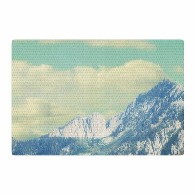 Sylvia Coomes Utah Mountains Blue/Nature Area Rug Rug Size: 2 x 3