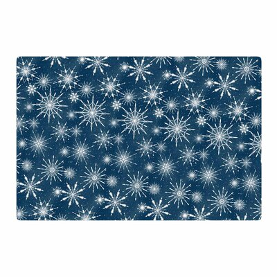 Tobe Fonseca Hope Through the Storm Blue/White Area Rug Rug Size: 2 x 3