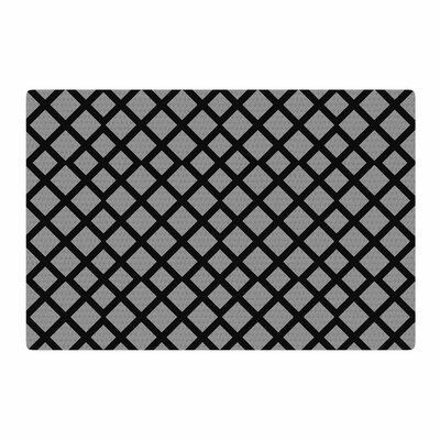 Trebam Dijamanti Black/Gray Area Rug Rug Size: 2 x 3
