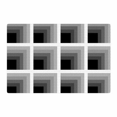 Trebam Dubina Black/White Area Rug Rug Size: 2 x 3