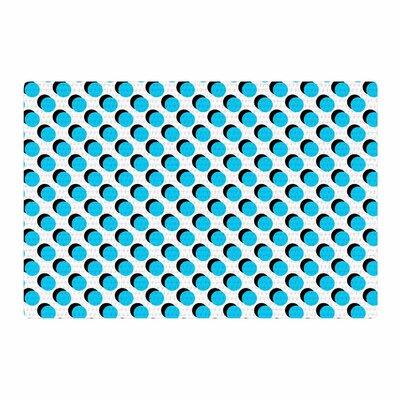Trebam Dupli Blue/White Area Rug Rug Size: 2 x 3