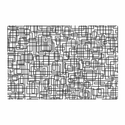 Trebam Komada Black/White Area Rug Rug Size: 2 x 3