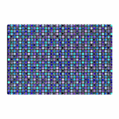 Trebam Mozaik Blue/Purple Area Rug Rug Size: 4 x 6