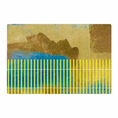 Trebam Okean Blue/Yellow Area Rug Rug Size: 2 x 3