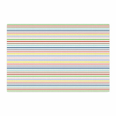 Trebam Pruge Stripes Yellow Area Rug Rug Size: 2 x 3