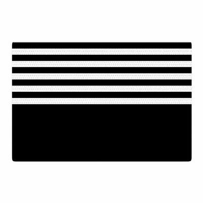 Trebam Roletna Black/White Area Rug Rug Size: 2 x 3