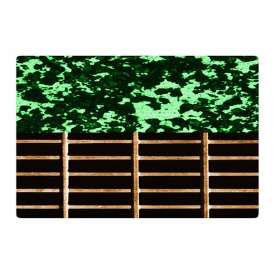 Trebam Stabla Green/Brown Area Rug Rug Size: 4 x 6