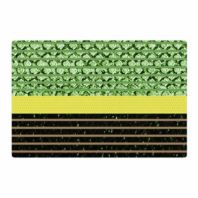 Trebam Stablo Abstract Green Area Rug Rug Size: 2 x 3