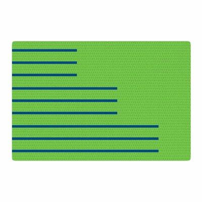 Trebam Stepenice V.3 Pattern Green Area Rug Rug Size: 4 x 6