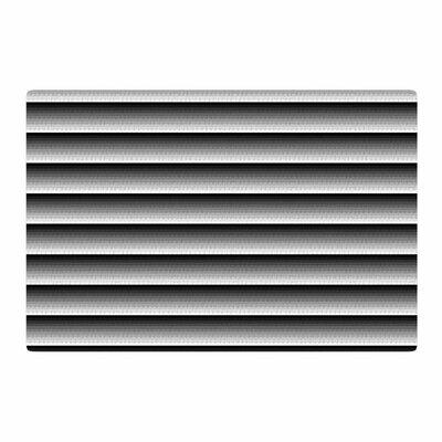 Trebam Zaster Black/White Area Rug Rug Size: 2 x 3