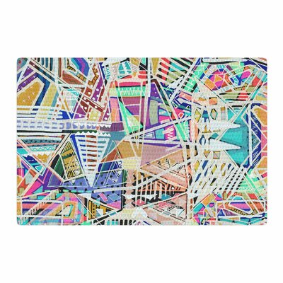 Vasare Nar Abstract Geometric Playground Pastel Area Rug Rug Size: 4 x 6