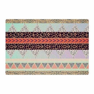 Vasare Nar Animal Print Tribal Pastel Area Rug Rug Size: 4 x 6