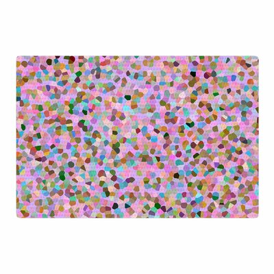 Vasare Nar Candy Confetti Abstract Pastel/Pink Area Rug Rug Size: 4 x 6