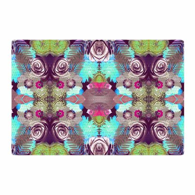Vasare Nar Kaleidoscopic Boho Magenta Area Rug Rug Size: 2 x 3
