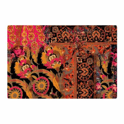 Victoria Krupp Global Patchwork Digital Coral Area Rug Rug Size: 4 x 6