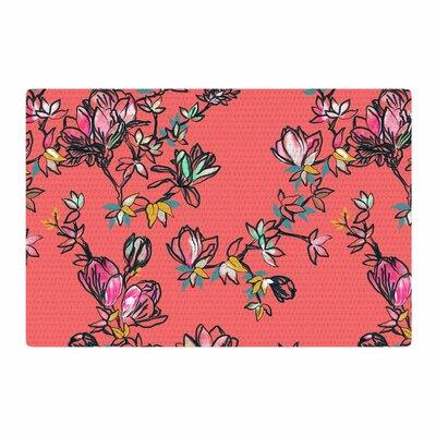 Victoria Krupp Magnolia Floral Pink Area Rug Rug Size: 4 x 6