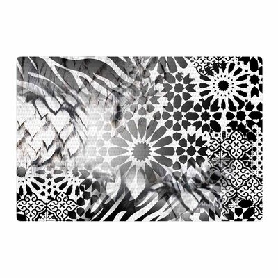 Victoria Krupp Out of Morocco Abstract Black Area Rug Rug Size: 4 x 6