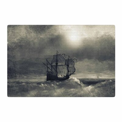 Viviana Gonzalez Chapter III Ship Dark Area Rug Rug Size: 2 x 3