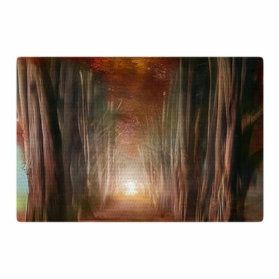 Viviana Gonzalez Dreams Come True Orange/Brown Area Rug Rug Size: 2 x 3