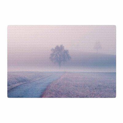 Viviana Gonzalez Vibes 02 Pink/Blue/Pastel Area Rug Rug Size: 4 x 6
