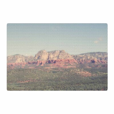 Ann Barnes Sedona Skies Photography Blue/Green Area Rug Rug Size: 2 x 3