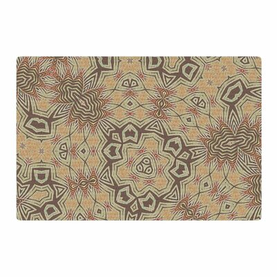 Alison Coxon Tribal Earth Digital Beige/Brown Area Rug Rug Size: 4 x 6