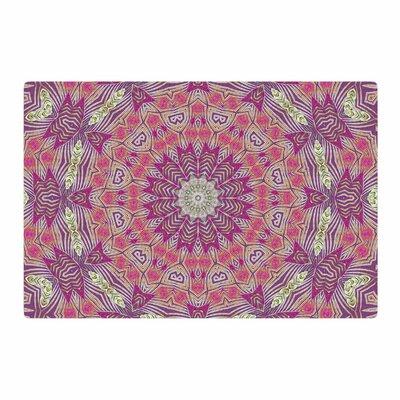 Alison Coxon Gypsy Medallion Purple/Pink Digital Area Rug Rug Size: 4 x 6