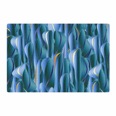 Angelo Cerantola Luscious Digital Blue Area Rug Rug Size: 2 x 3