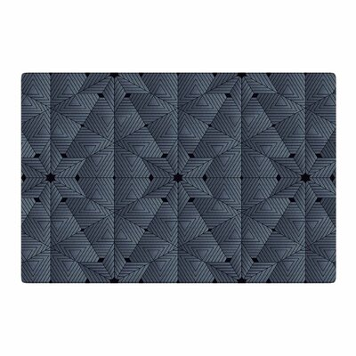 Angelo Cerantola Star Lounge Illustration Blue/Gray Area Rug Rug Size: 2 x 3