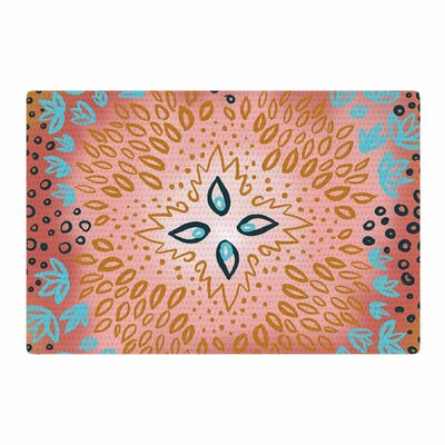Pellerina Design Bohemian Tapestry Pink Area Rug Rug Size: 2 x 3