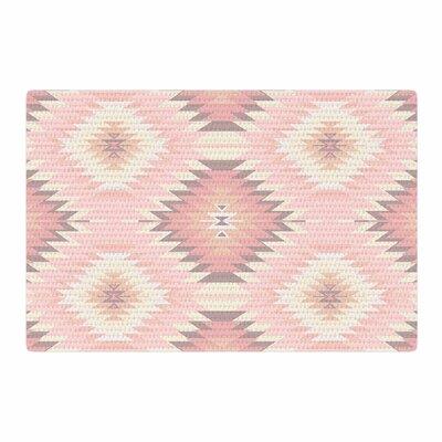 Amanda Lane Soft Navajo Digital Pink/Coral Area Rug Rug Size: 2 x 3