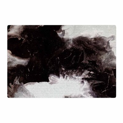 Claire Day Underneath Painting Black Area Rug Rug Size: 2 x 3