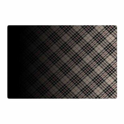 Draper Grunge Digital Black/Beige Area Rug Rug Size: 4 x 6