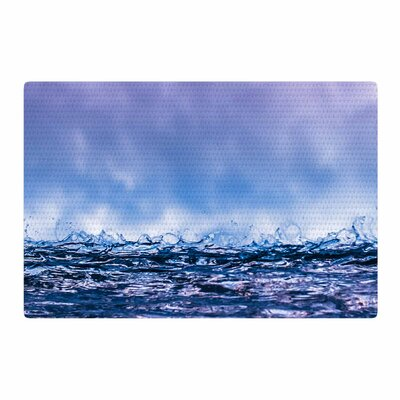 Colin Pierce Falling Sky Photography Blue/Lavender Area Rug Rug Size: 4 x 6