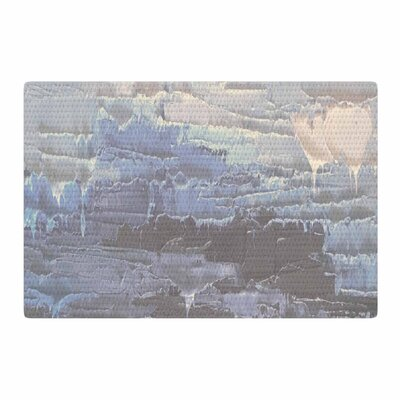 Carol Schiff Four Seasons Winter Painting Gray/Blue Area Rug Rug Size: 4 x 6