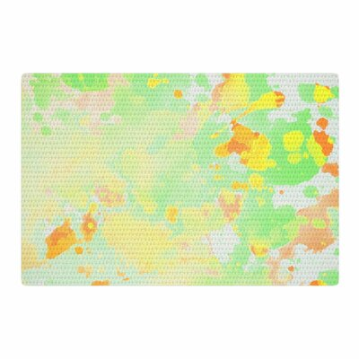 CarolLynn Tice Catch Painting Yellow/Green Area Rug Rug Size: 4 x 6