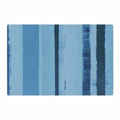 CarolLynn Tice 11pm Painting Blue Area Rug Rug Size: 2 x 3
