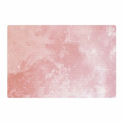 Chelsea Victoria Marble Watercolor Painting Pink/White Area Rug Rug Size: 4 x 6