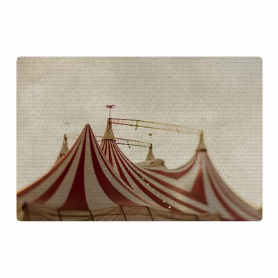 Chelsea Victoria The Big Top Urban Photography Red/Brown Area Rug Rug Size: 4 x 6