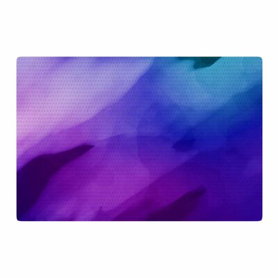Chelsea Victoria Water Painting Blue/Purple Area Rug Rug Size: 4 x 6