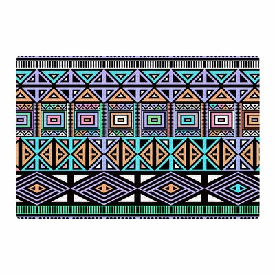 Fimbis AztecToo Digital Purple Area Rug Rug Size: 4 x 6