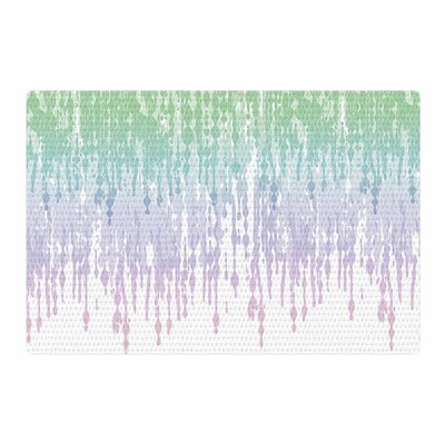 Frederic Levy-Hadida Rainbow Drops Digital Pastel/Blue Area Rug Rug Size: Rectangle 2 x 3