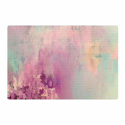 Geordanna Fields Serene Nebula Painting Blue/Pink Area Rug Rug Size: 2 x 3