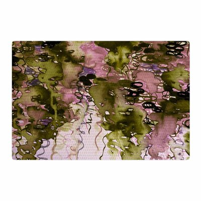 Ebi Emporium Beauty In The Rain Green/Lavender Area Rug Rug Size: 4 x 6