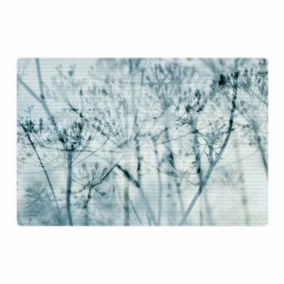 Iris Lehnhardt Atmospheric Nature Blue/Black Area Rug Rug Size: 4 x 6