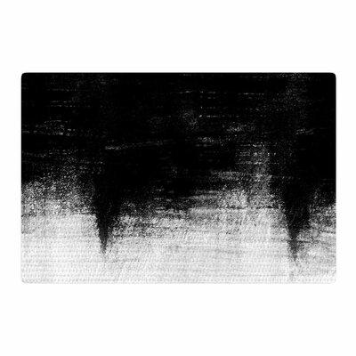 Iris Lehnhardt Painting Black/White Area Rug Rug Size: 2 x 3