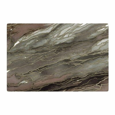 Ebi Emporium Agate Magic Watercolor Tan/Gold Area Rug Rug Size: 2 x 3